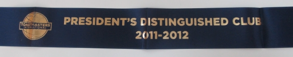 President's Distinguished Club Award